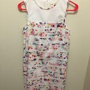 Shoshanna formal flower dress